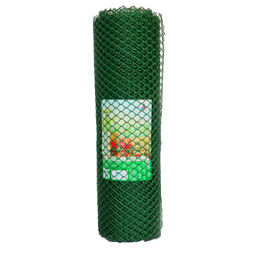 Заборная решетка 40х40 (L-1.5 L-25) Зеленая