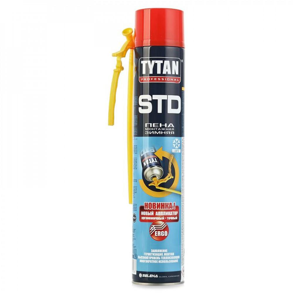 Монтажная пена «Tytan STD Эрго» зимняя 750 мл