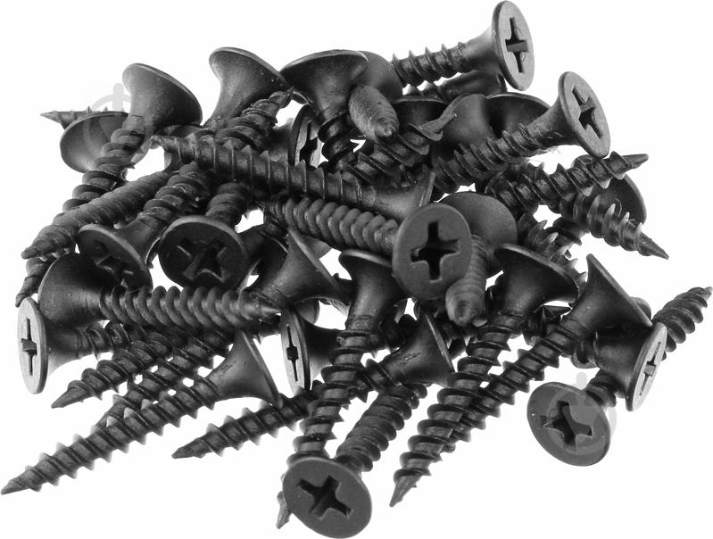 Саморезы по металлу Потай частая резьба оксид. 3,5*16 (1 кг)